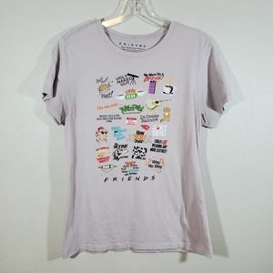 FRIENDS Short Sleeve Graphic Tee Shirt Large